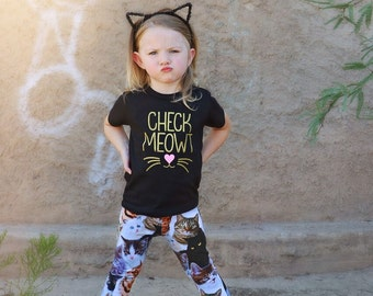 Check Meowt || Cat Shirt || Check Meowt Shirt || Kitty Shirt || Funny Cat Shirt || Cat Lover Gift || Check Me Out || Cat Tee || Toddler Tee