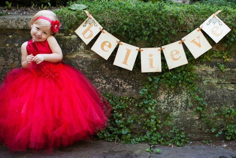 a82c452b3 Classic RED Pixie tutu dress ..Flower Girl Dress..Vintage