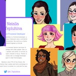 Heroines of JavaScript Trading Cards - Pack of 20