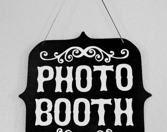 Photo Booth Sign Wedding Birthday Party