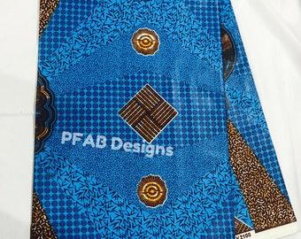 Ankara Block  Wax /Fabric/African Prints/Supplies/African Fabric/Ankara/Crafts/sewing/African Clothing/ Sold by yard