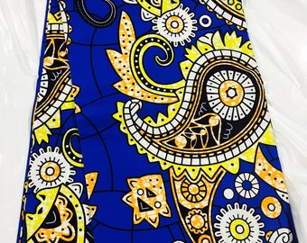 African Fabric,quality Wax /African Fabric/African Prints/Fabric/Ankara/Crafts/African Clothing/Best Quality sold per yard