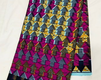 African Fabric-Fabric/African Prints/African Fabric/Ankara/Crafts/African Clothing/Sold per yard
