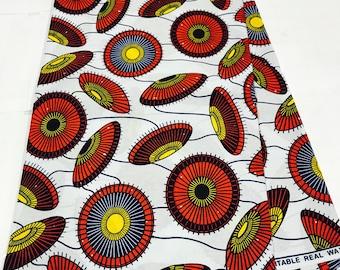 African Fabric/Crafts/African Clothing/Ankara Wax sold per yard -