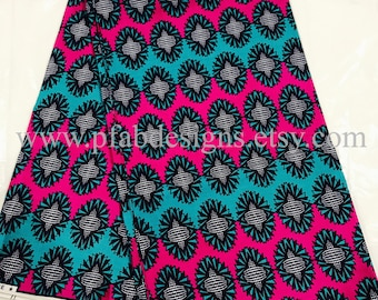 African Fabric/ Breathable Cotton  print/Face masks/Cotton/Clothing/Crafts/African Clothing/Breathable Cotton Fabric Sold by Yard