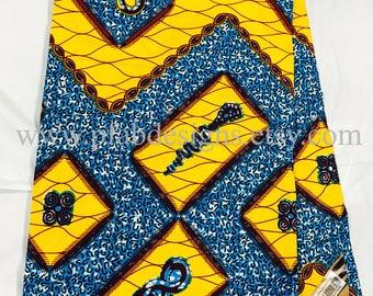 African Fabric Holland  wax/head wraps/African Fabric/Crafts/Sewing/African Clothing/African Dress /Ankara / Holland Wax sold per yard