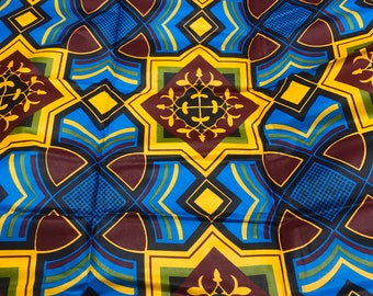 African Fabric/African Prints/African Fabric/Crafts/African Clothing/ Ankara / African fabric sold by yard