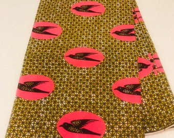 African Fabric /African Prints/African Fabric/Crafts/African Clothing/ Ankara / Wax/ fabric sold by yard