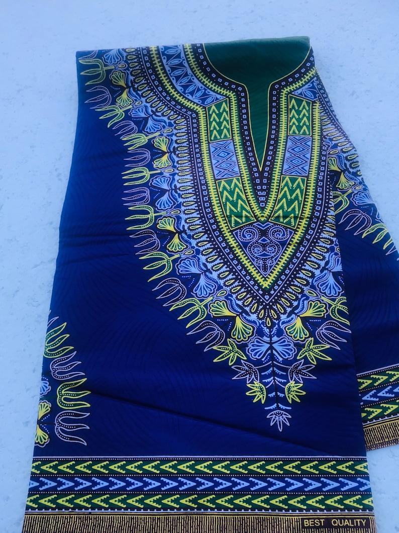 African Fabric/Dashiki Fabric /Cotton Print/ Masks/Fabric/ image 0