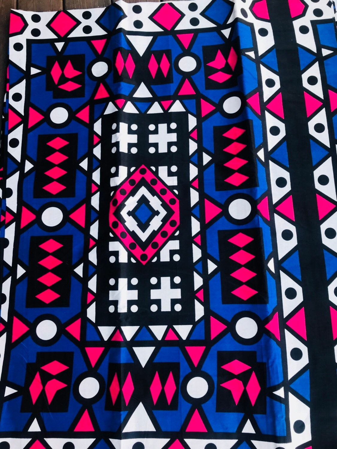 African Fabric Samakaka Angola Wax/ African Fabric/Crafts/African  Clothing/Samakaka Sold per yard