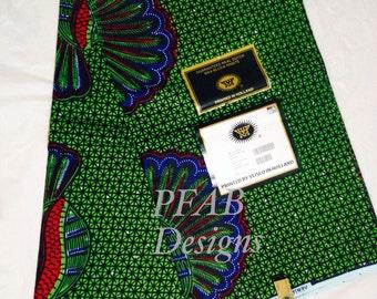 African Fabric Wax /Fabric/Ankara/African Fabric/Ankara/Crafts/African Clothing/  African Fabric sold per yard