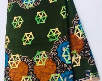 African Fabric Fancy Bazin /Fabric/African Prints/African Fabric/Ankara/Crafts/African Clothing/Best Quality Bazin Fancy Print sold per yar