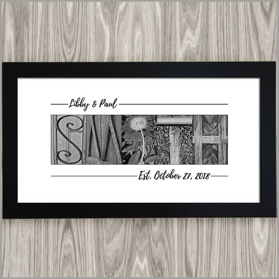 Wedding Gift Gift For The Couple Personalized Couples Gift Etsy