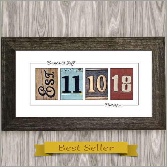 Personalized Wedding Gift For Couple Unique Wedding Gift For Etsy