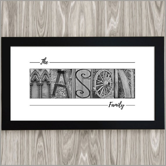 Last Name Sign Wedding gift  3D Letters Anniversary Gift Sign Valentine\u2019s Day