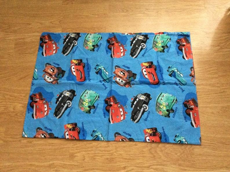 CARS Pillowcase-Flannel-18 x 20 inches