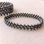 Women's Jewelry, Hematite Stretch Bracelet