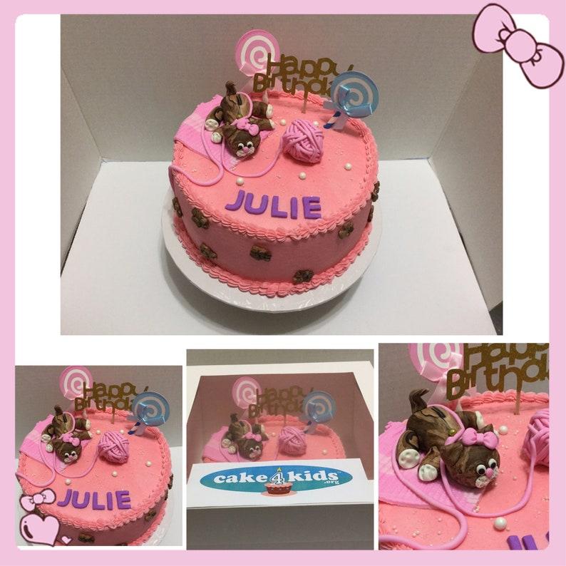 KITTEN Design Cake For Birthdays Or Any Celebration We Also