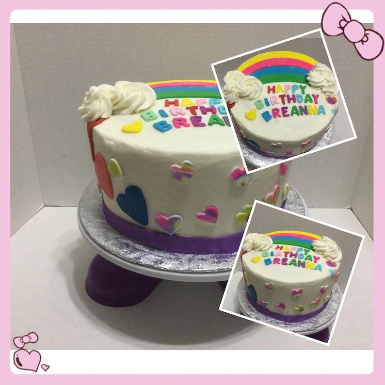 Rainbow CAKES For Birthdays Or Any Celebration We Also