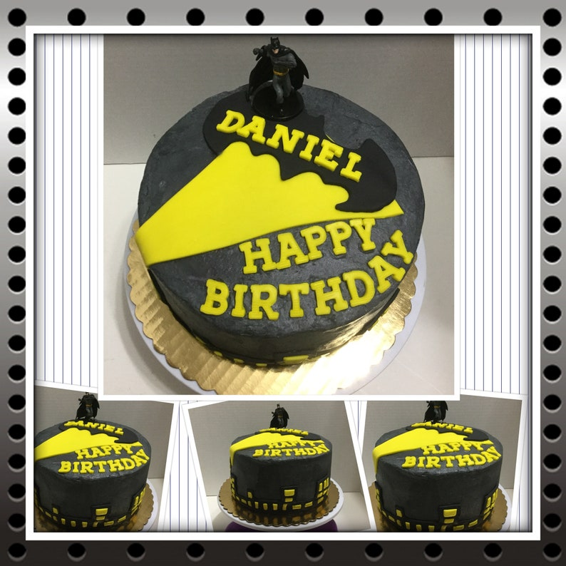 Batman Cake For Birthdays Or Any Celebration We Also Have