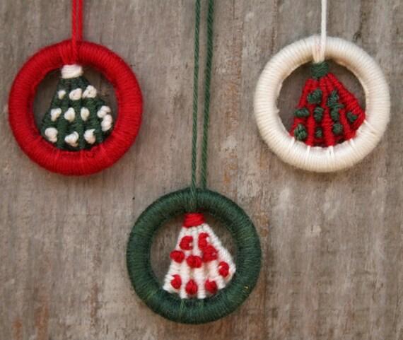 dorset button kit christmas tree hanging ornament etsy