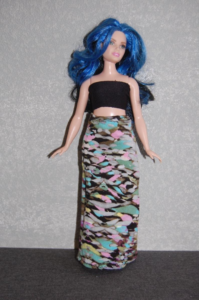 02ef8f0770626 Curvy Barbie Maxi Skirt A4B166 fashionista fashion doll