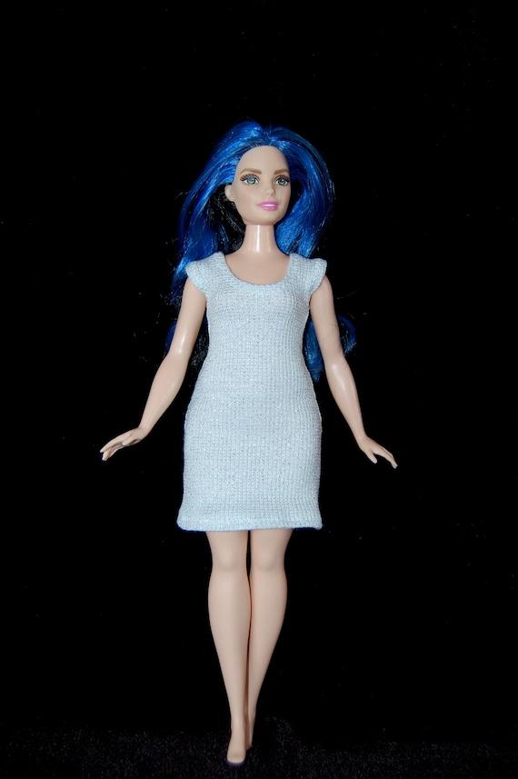 64b74add91fb4 Dress fits Curvy Barbie fashionista fashion doll clothes