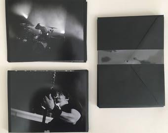 Custom made Gojira Heavy Metal Live Pro Photography Notecard Set