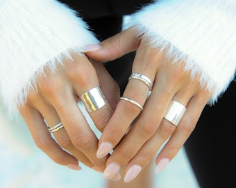 Dynamo Rings / Bold Rings / Bold Jewelry / Gold & Silver Rings / Handmade Rings / Gifts For Her / Glam Jewelry / Statement Rings