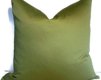 SALE Solid Green Pillow Cover Leaf green Pillow Solid Green Pillow