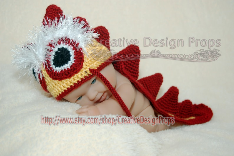 f67ae99cabe48 Chinese Dragon Costume Dino Hat and back cover