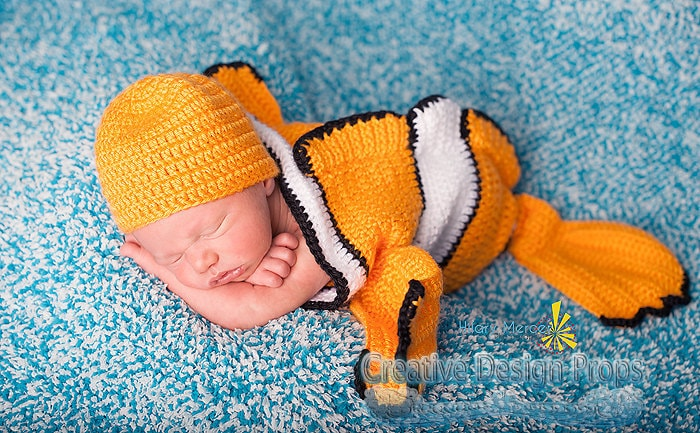 Clownfish Costume For Baby Exclusive Finding Nemo Set Etsy