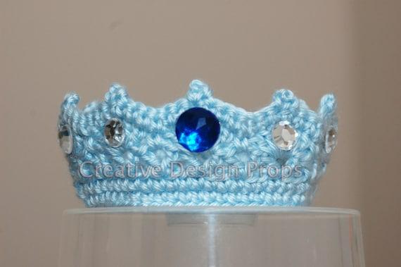 Häkeln Sie Baby Prince Crown handgemachte Säugling Tiara mit | Etsy
