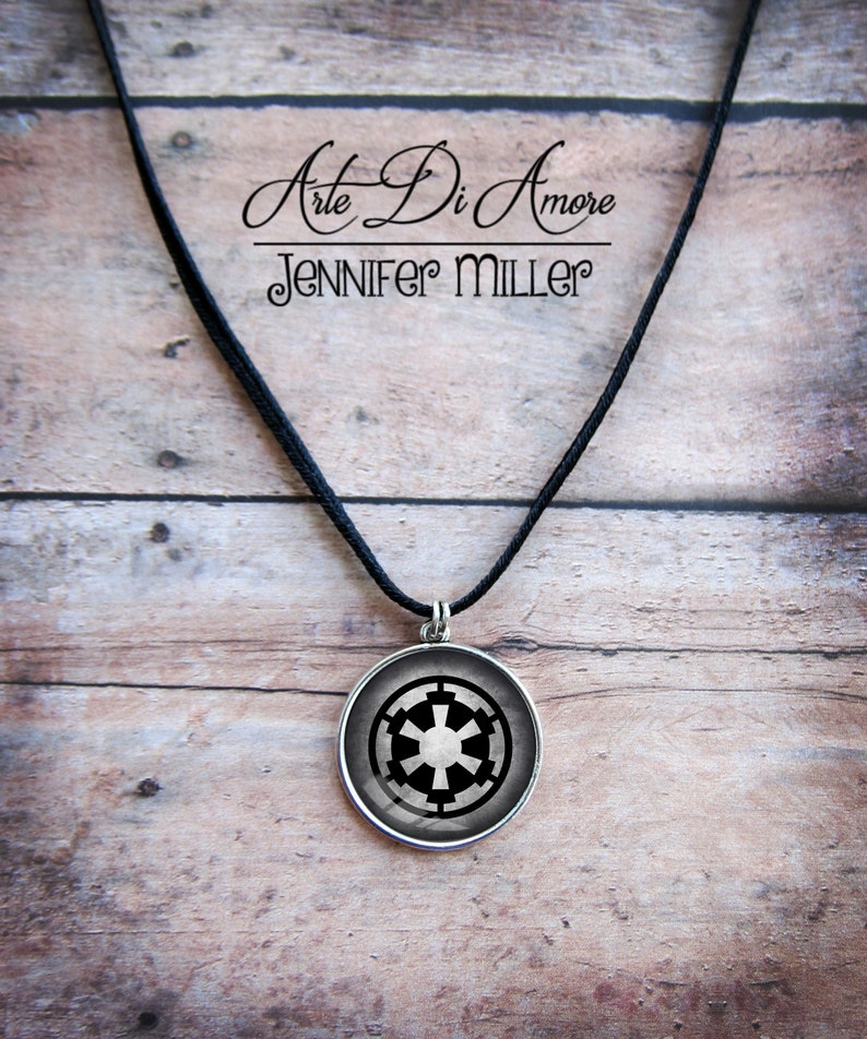 Imperial Crest Star Wars Pendant 3 Styles image 0