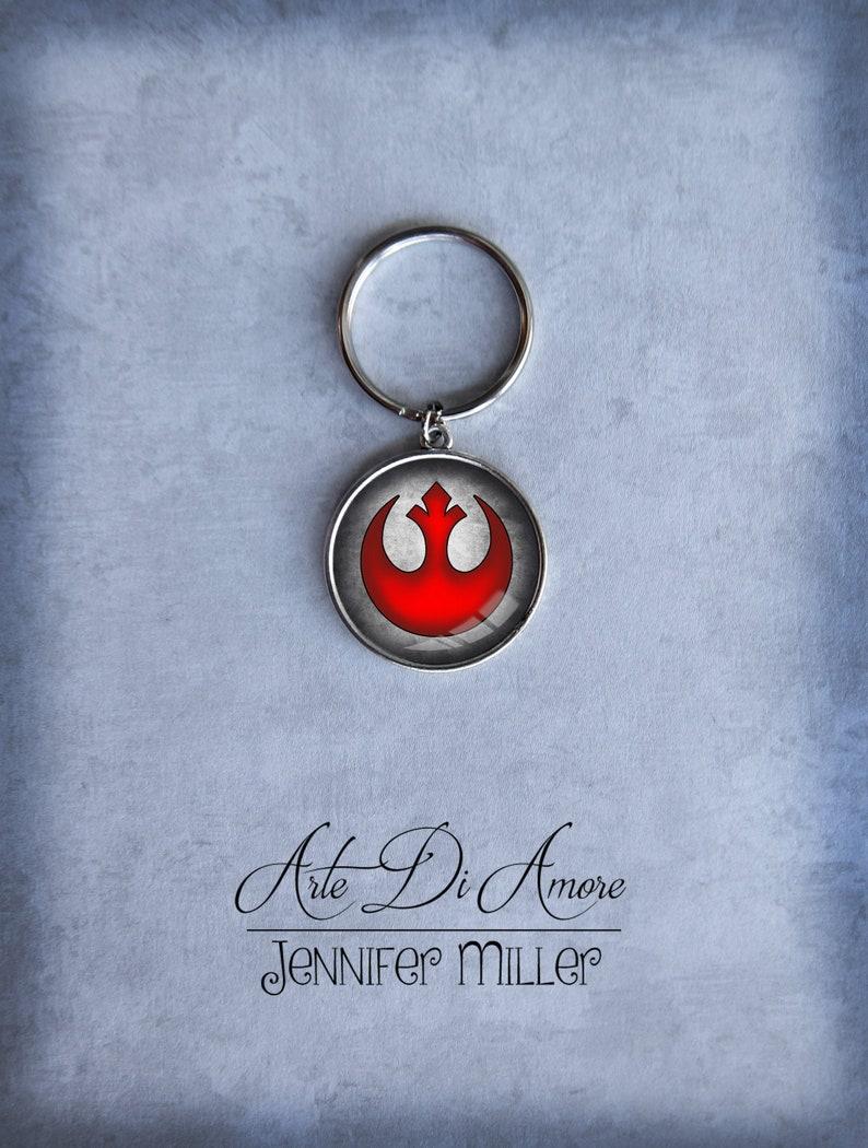 Rebel Alliance Star Wars Keychains 2 Styles image 0