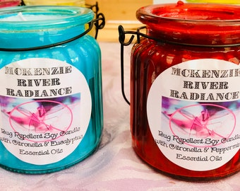 Insect Repellent Hanging Candles