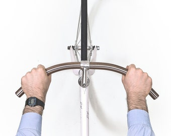 "NEW Walnut Wood Handlebar ""BONASUS"" with Built in Aluminum by Woodstick Ltd."