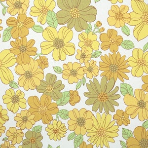 Retro Wallpaper By The Yard 60s Vintage