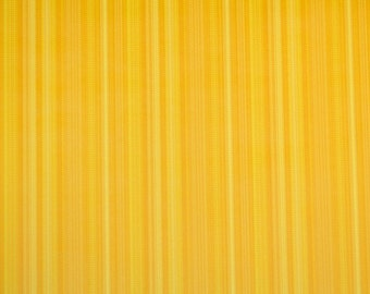 Retro Wallpaper by the Yard 70s Vintage Wallpaper - 1970s Golden Orange and Yellow Stripes