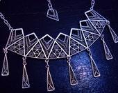 Lines-If, Handmade Sterli...