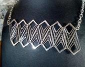Lines-N, Handmade Sterlin...