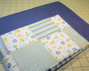 Double Layer Receiving Blanket ~ Snuggle Flannel