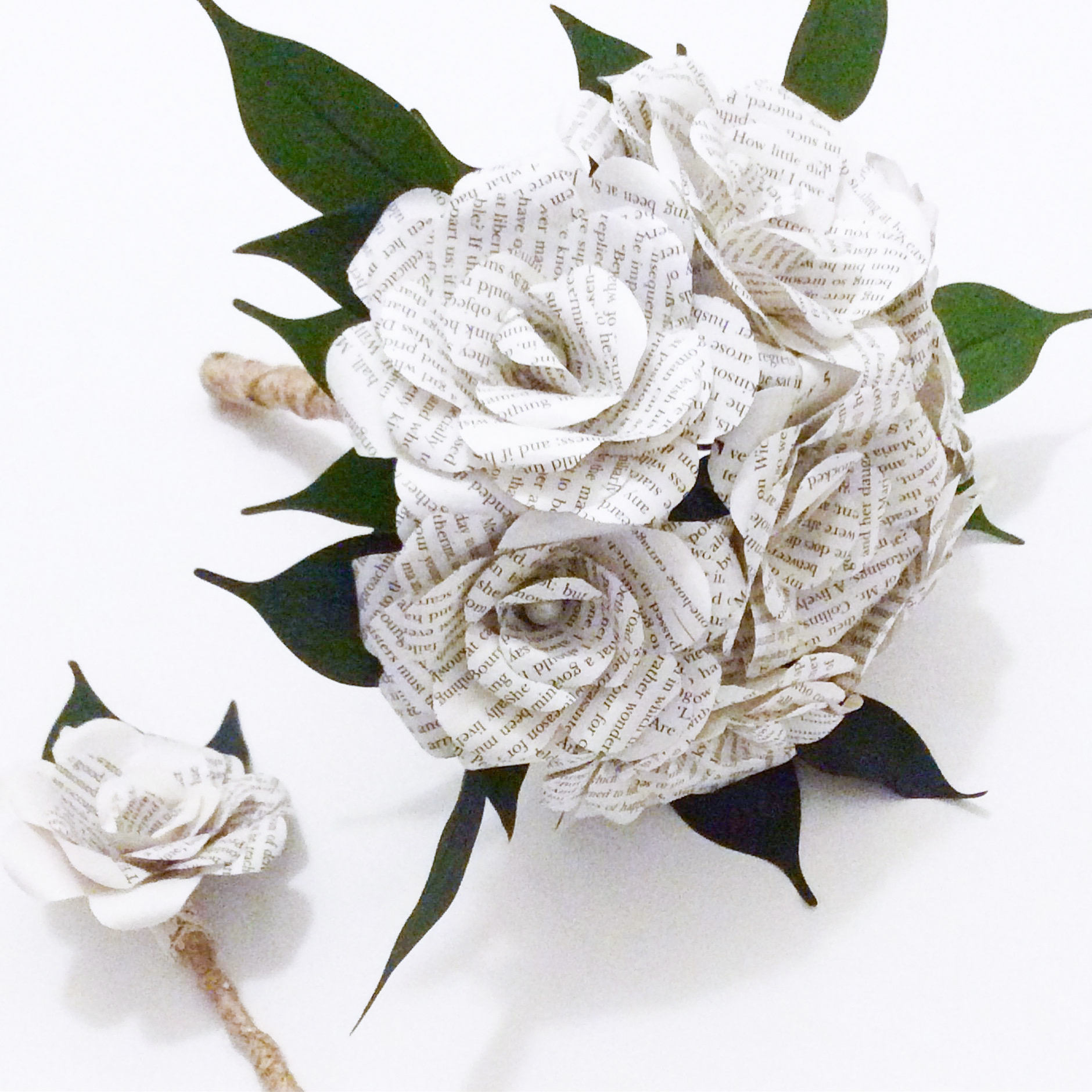 Harry Potter Bouquet Custom Book Bouquet Weddingbook Flowers