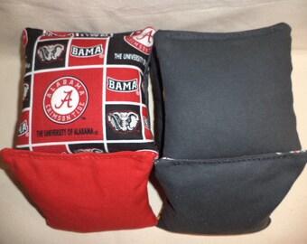 Cornhole Bags Chevron Strip Cornhole Bean Bags Gray And