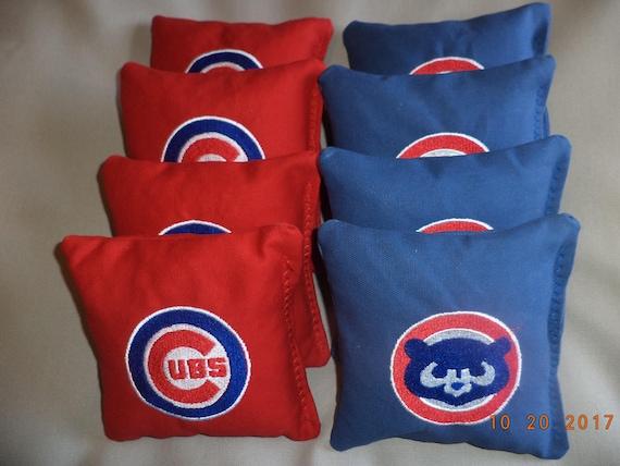 Fabulous Cornhole Bags Chicago Cubs Corn Hole Bean Bags Baggo Tailgate Toss Bags Lamtechconsult Wood Chair Design Ideas Lamtechconsultcom