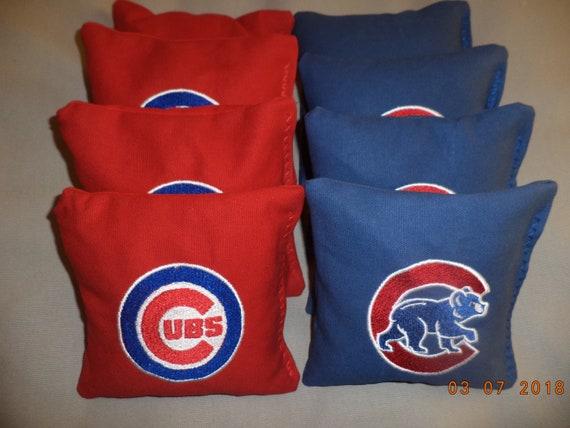 Terrific Cornhole Bags Chicago Cubs Corn Hole Bean Bags Baggo Tailgate Toss Bags Lamtechconsult Wood Chair Design Ideas Lamtechconsultcom
