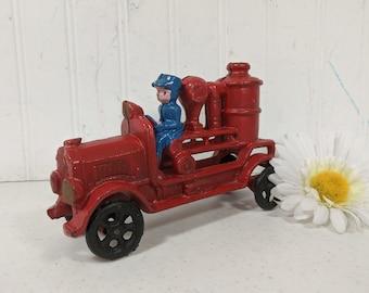 Fire truck  cast iron not complete