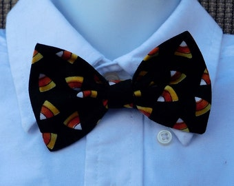 Halloween Candy Corn Bow Tie For Toddlers And Boys