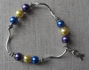 096 Bladder Cancer Awareness Bracelet