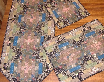 Flip and Sew Tableware Pattern